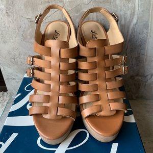 Lucky Brand Rorie Platform Wedge Sandal